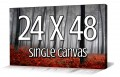 Teambuy December 2012 Option 4: Panoramic Canvas - 24 x 48