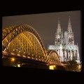 Bridge to Cologne Cathedral